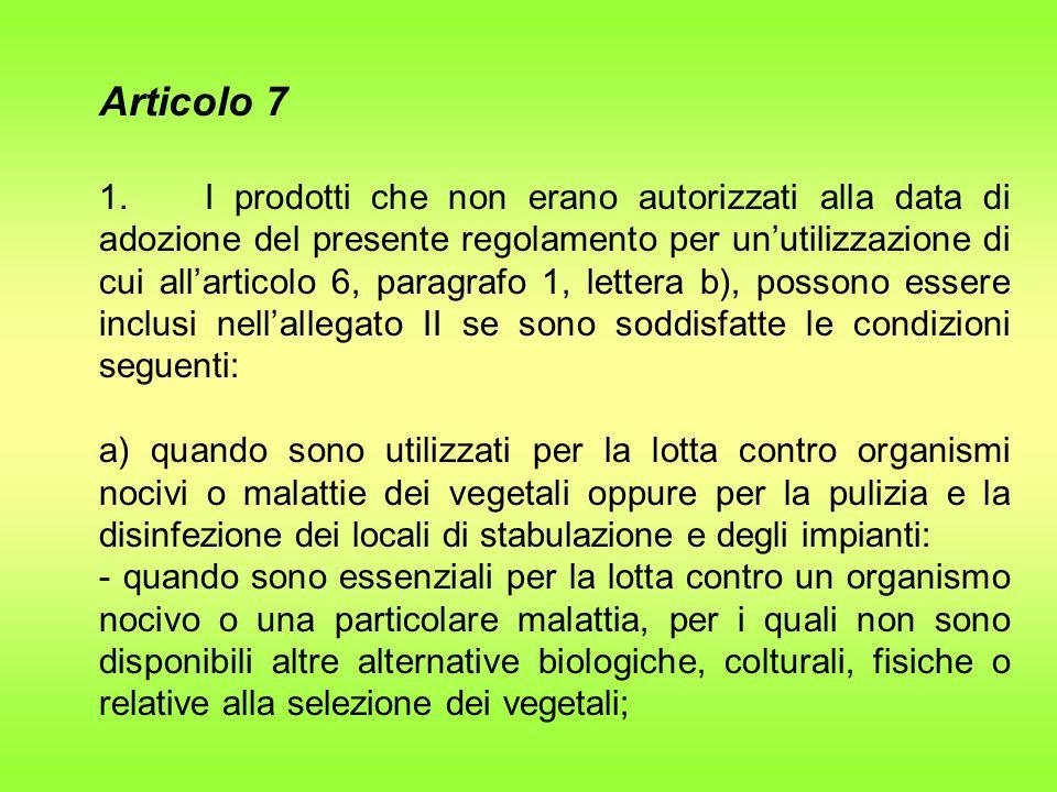 Articolo 7 1.