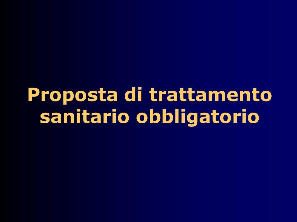 Proposta di trattamento sanitario obbligatorio