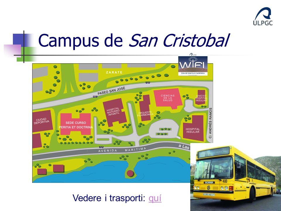 Campus de San Cristobal Vedere i trasporti: quíquí