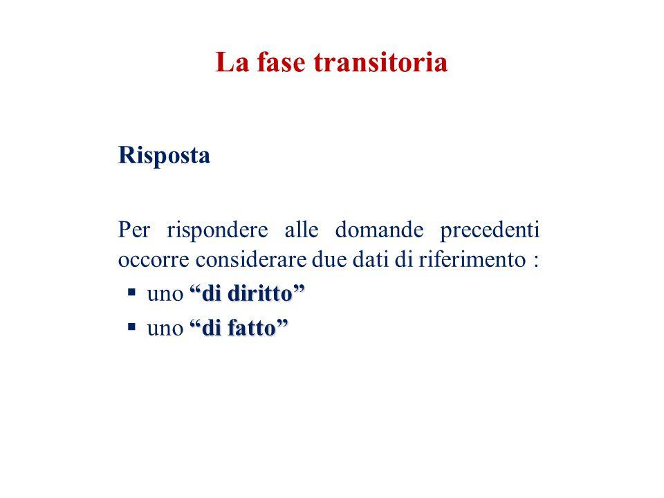 Riferimento n.1 (Riferimento di diritto ) Art. 9 D.l.