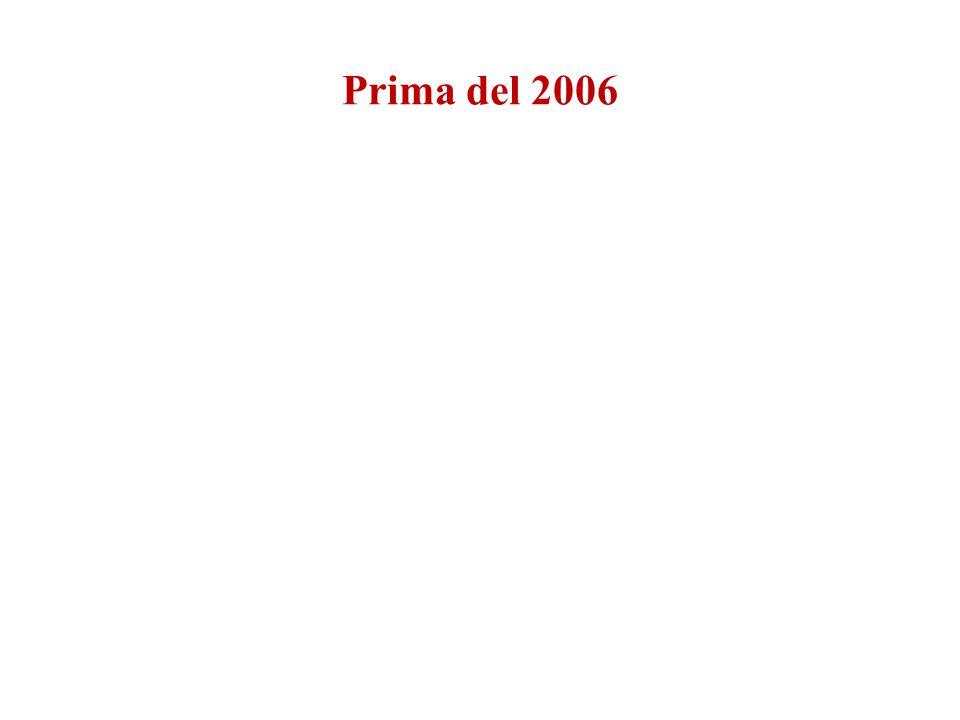Prima del 2006
