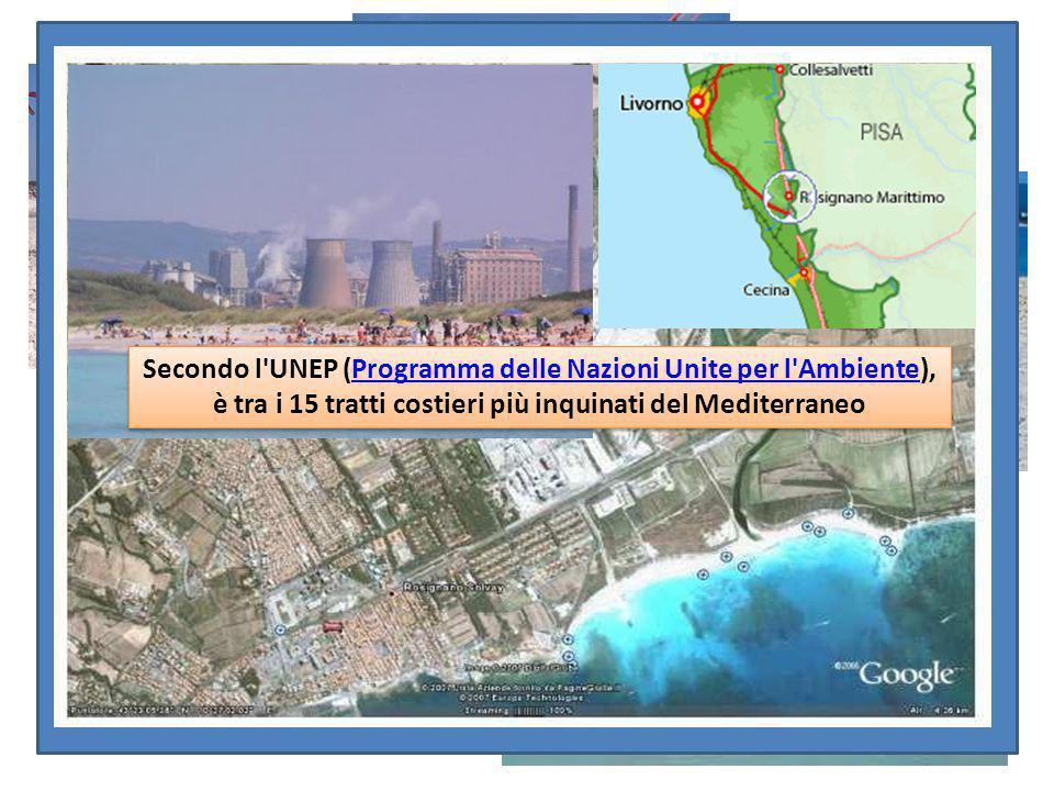 Secondo l'UNEP (Programma delle Nazioni Unite per l'Ambiente), è tra i 15 tratti costieri più inquinati del MediterraneoProgramma delle Nazioni Unite