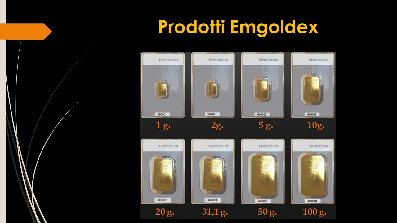 Prodotti Emgoldex
