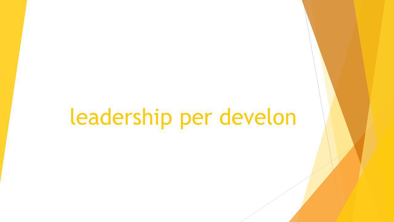 leadership per develon