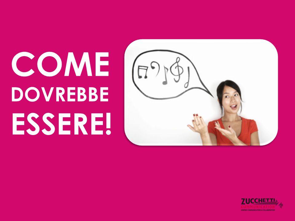 COME DOVREBBE ESSERE!