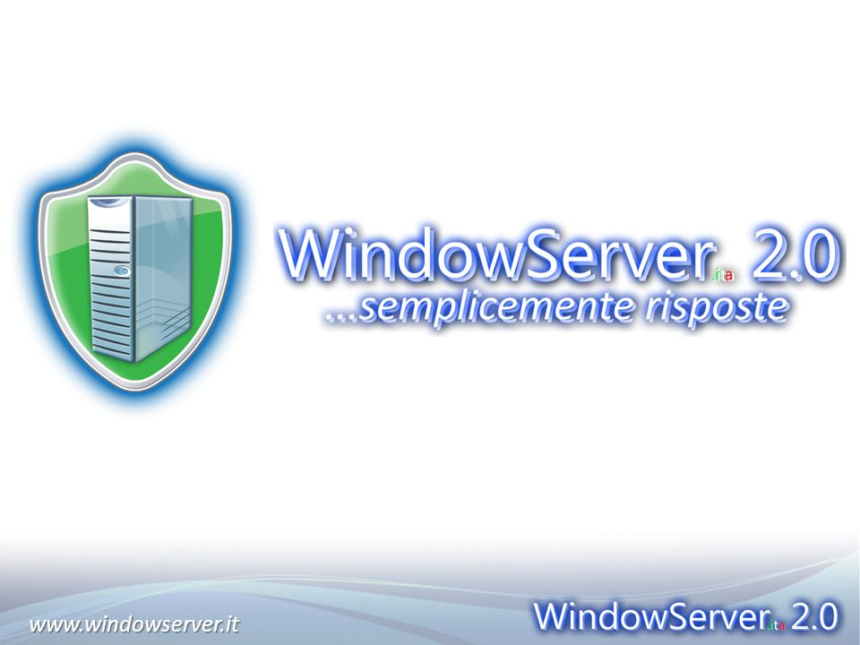 www.windowserver.itwww.windowserver.it
