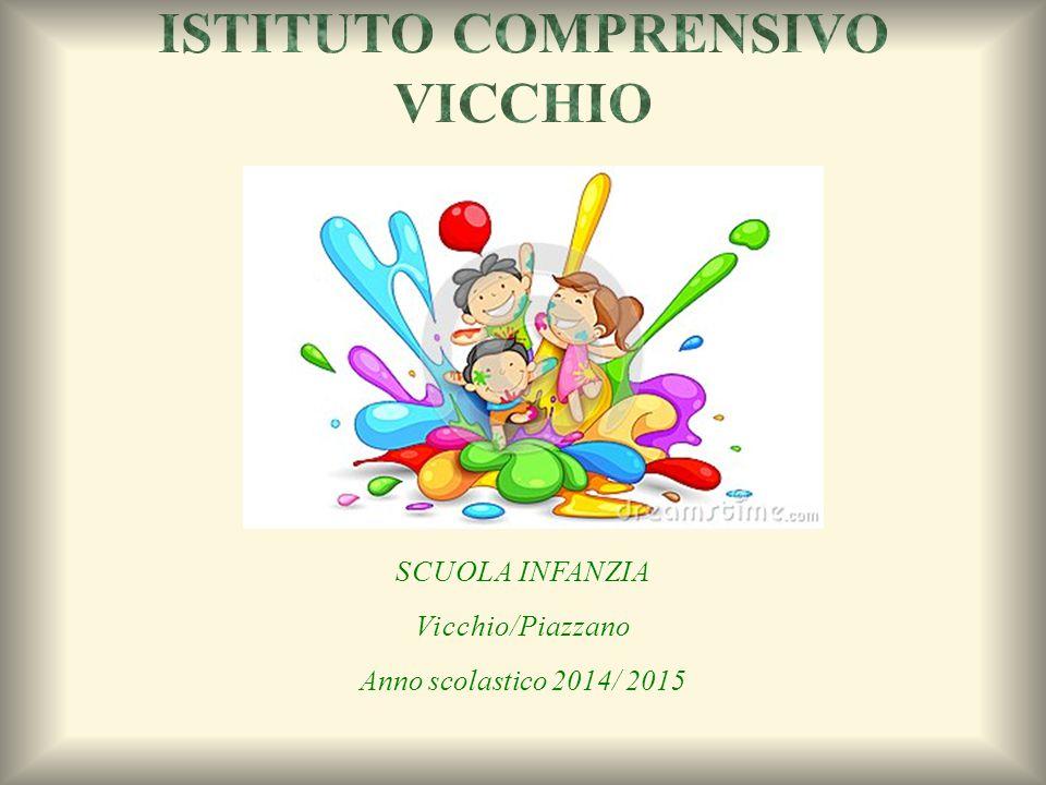 SCUOLA INFANZIA Vicchio/Piazzano Anno scolastico 2014/ 2015