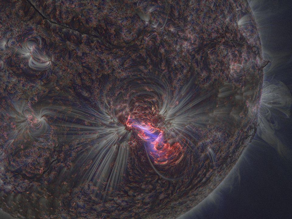 Uno spettro di regione HII Una volta conosciute la temperatura e la densita' del gas, si possono deivare anche le abbondanze dei vari ioni.
