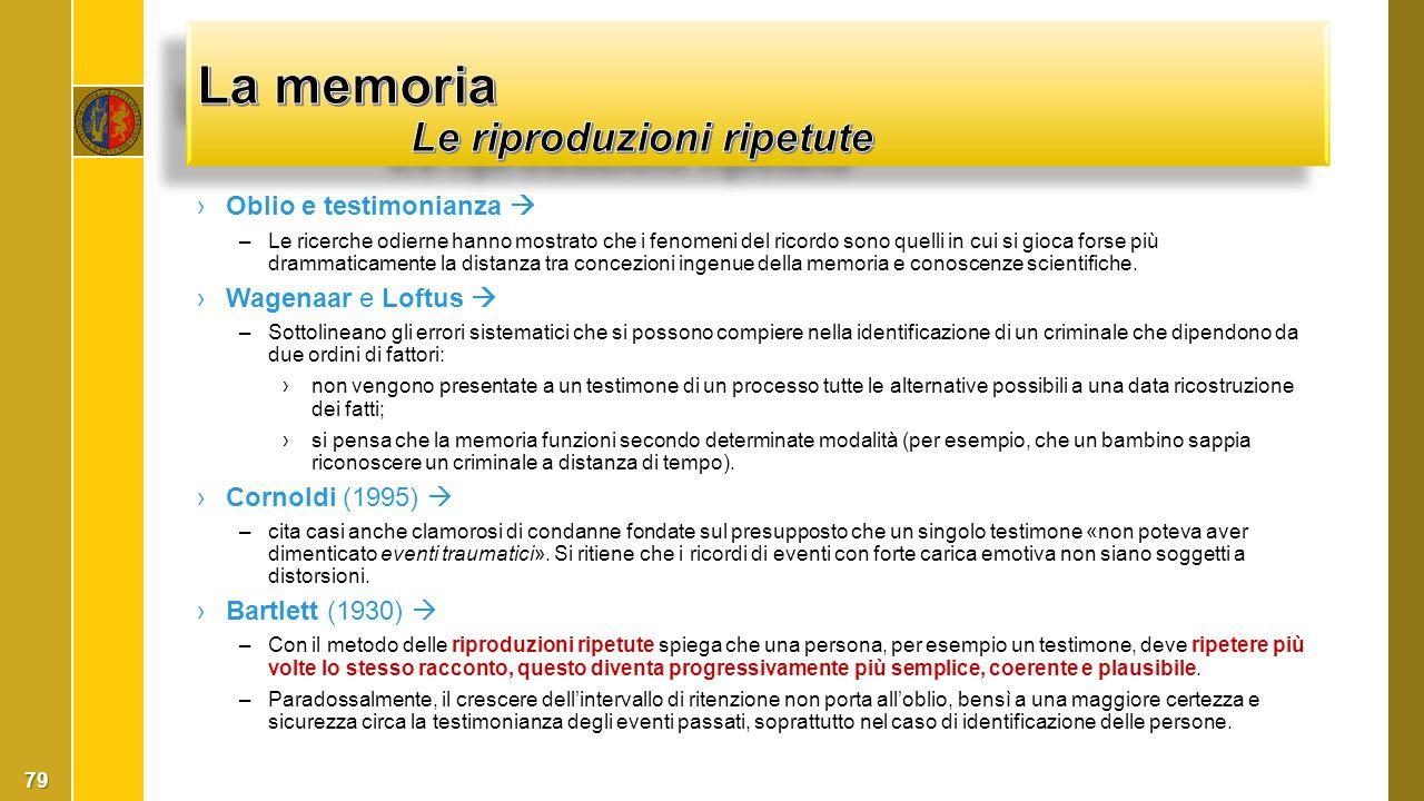 ›Oblio e testimonianza  –Le ricerche odierne hanno mostrato che i fenomeni del ricordo sono quelli in cui si gioca forse più drammaticamente la dista