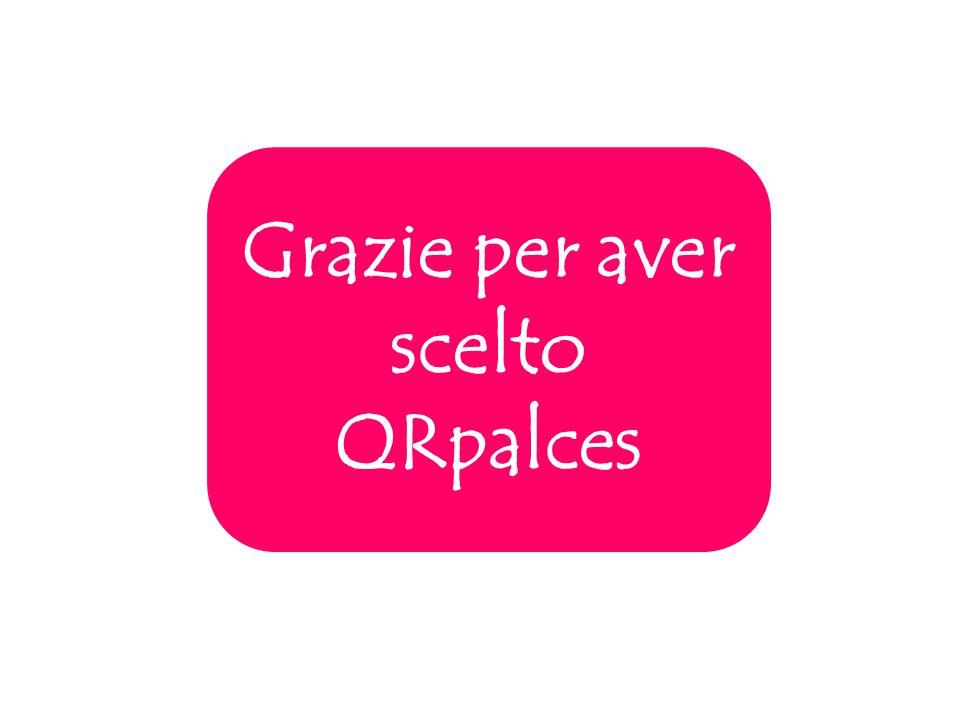 Grazie per aver scelto QRpalces
