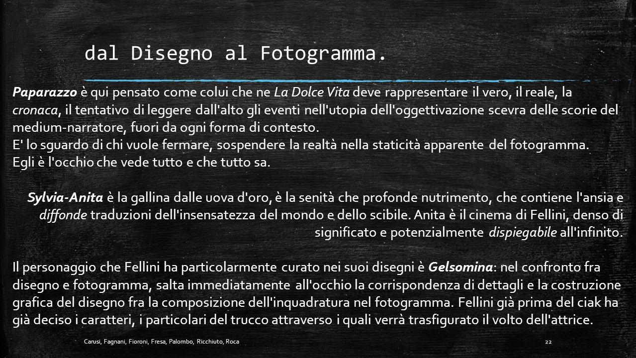 """- Trasformazione narrativa di.. """"GELSOMINA"""" - il Film. 21Carusi, Fagnani, Fioroni, Fresa, Palombo, Ricchiuto, Roca"""