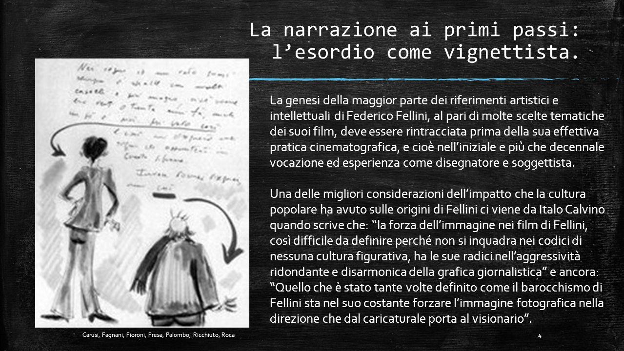 TAVOLA DEI CONTENUTI 1. La narrazione ai primi passi: l'esordio come vignettista.................................. p. 4 2. Cornice Teorica ……………………………