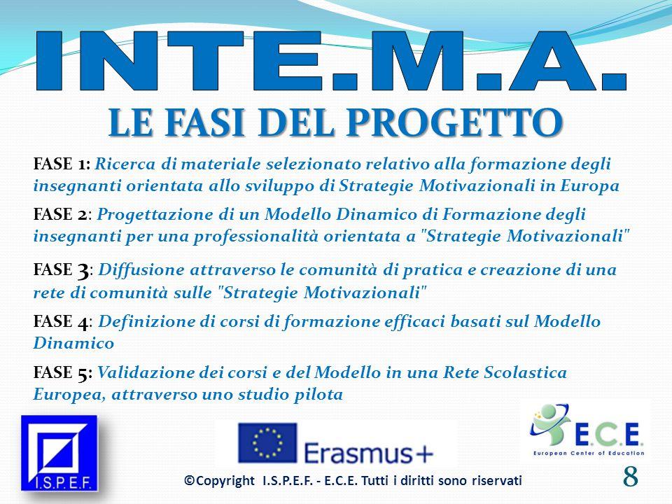 BENEFICIARI DEL PROGETTO I beneficiari diretti del progetto sono gli insegnanti che lavorano con studenti di 14-16 anni, che sono la popolazione a più alto rischio di disagio a livello Europeo.