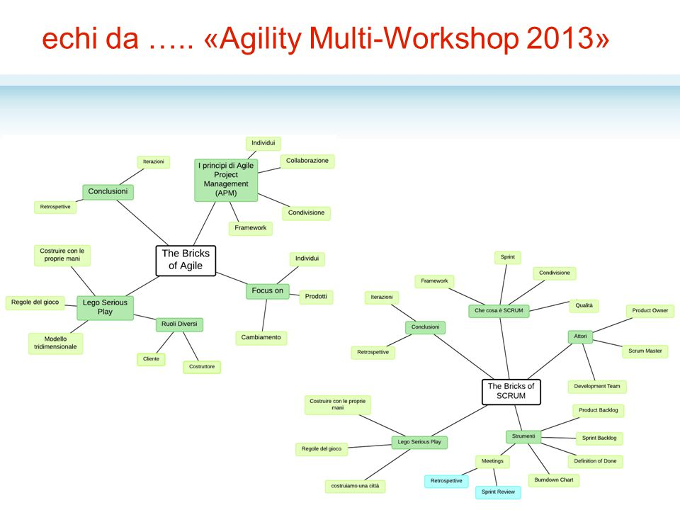 echi da ….. «Agility Multi-Workshop 2013»