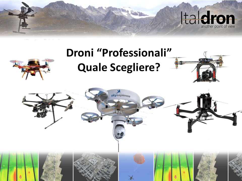 """Droni """"Professionali"""" Quale Scegliere?"""