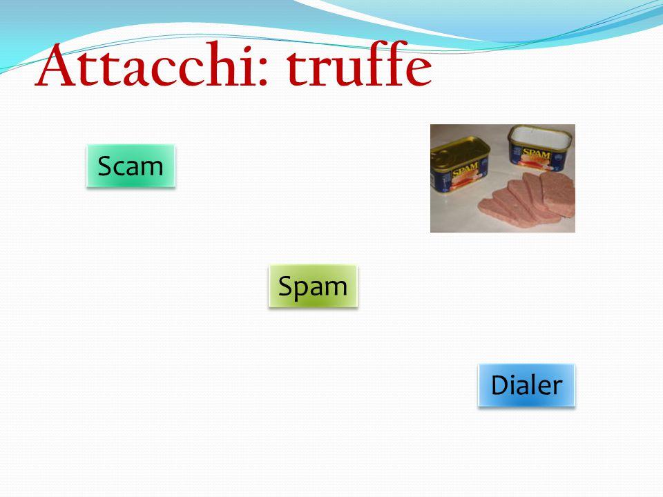 Attacchi: truffe Scam Spam Dialer