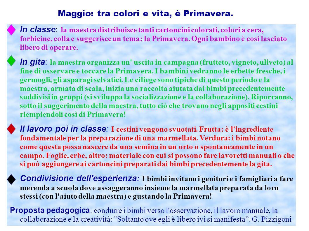 Maggio: tra colori e vita, è Primavera.