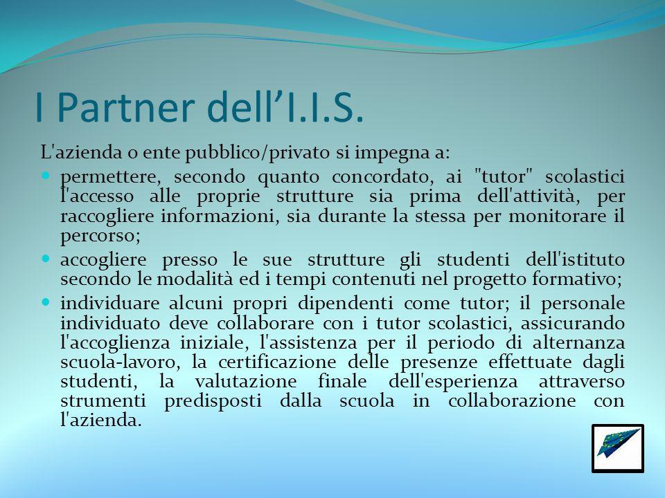 I Partner dell'I.I.S.