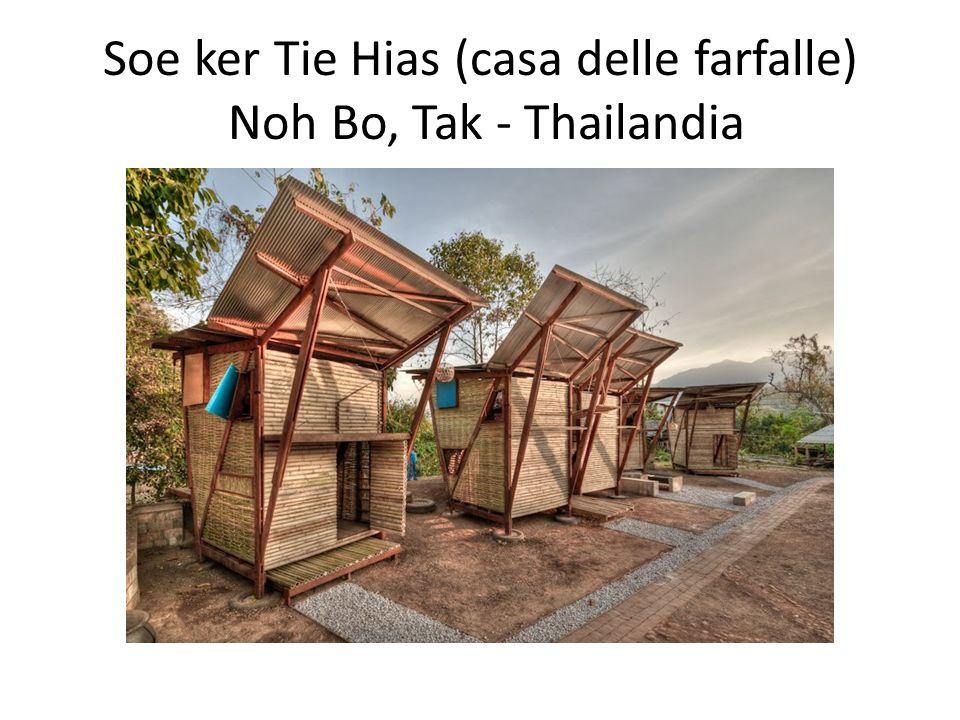 Soe ker Tie Hias (casa delle farfalle) Noh Bo, Tak - Thailandia