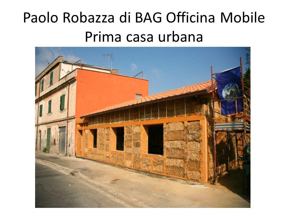 Paolo Robazza di BAG Officina Mobile Prima casa urbana