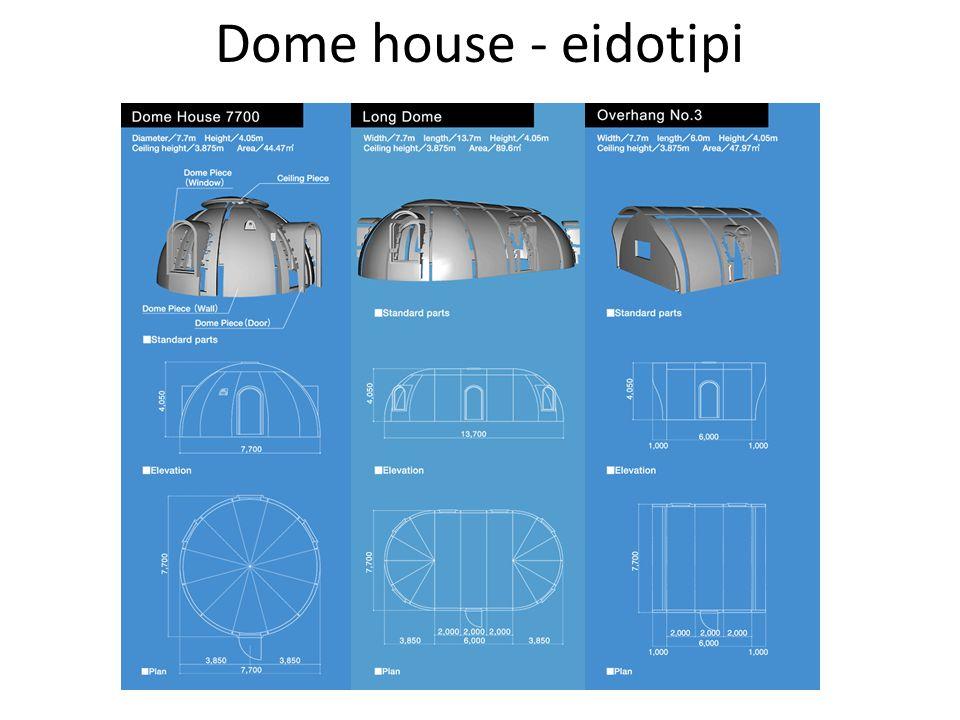 Dome house - eidotipi