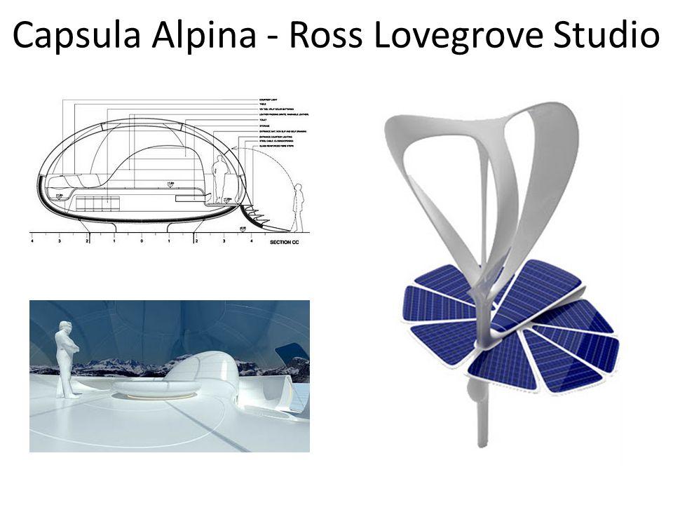 Capsula Alpina - Ross Lovegrove Studio