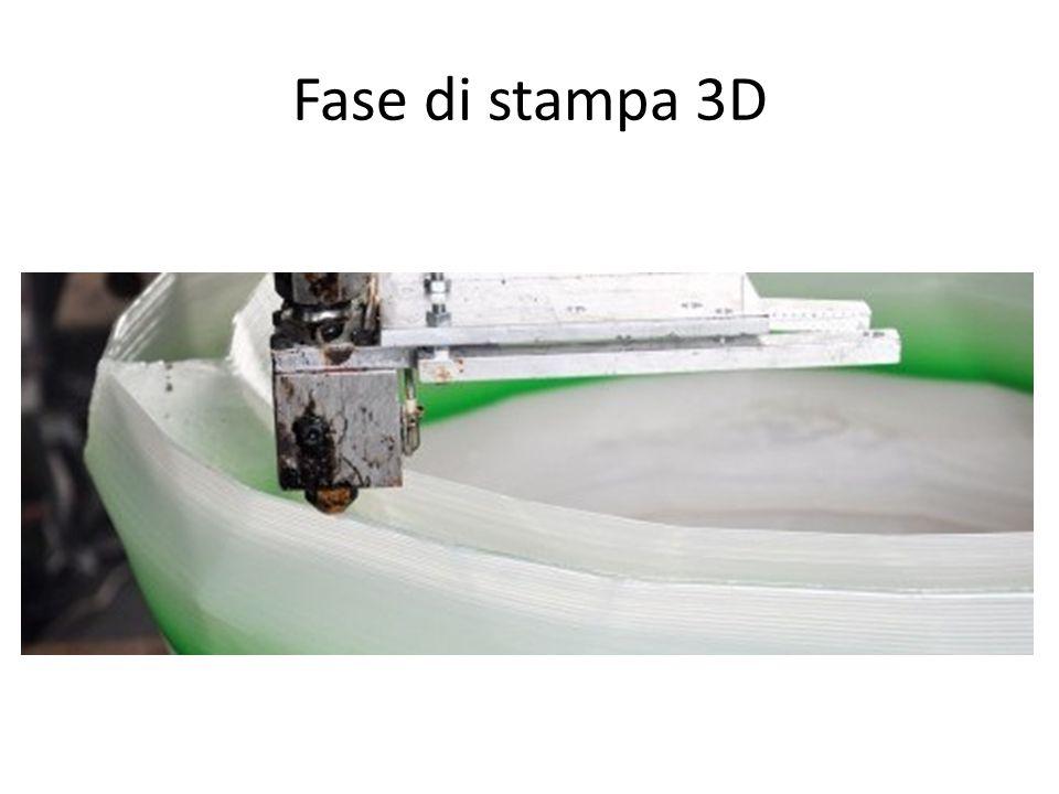 Fase di stampa 3D