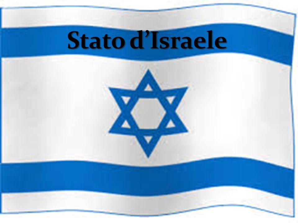 Formazione dello Stato d'Israele Lo stato d'Israele venne proclamato il 14 maggio 1948.