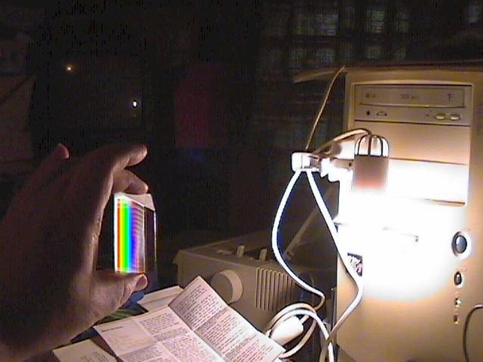 La dispersione della luce e lo spettro di Newton
