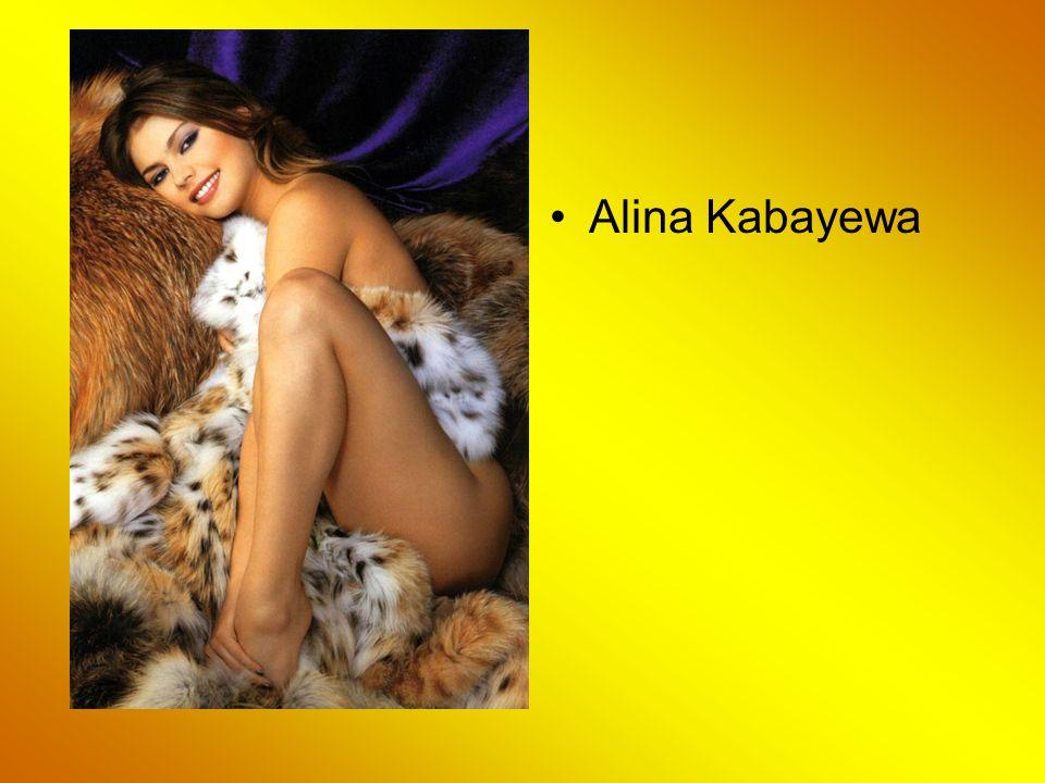 The New Love of Vladimir: Athlete Alina Kabayewa Alina Kabajewa