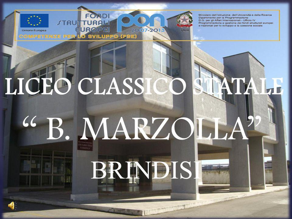 """LICEO CLASSICO STATALE """" B. MARZOLLA"""" BRINDISI"""