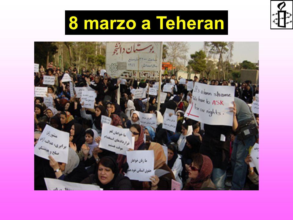 8 marzo a Teheran