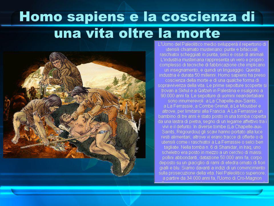 Homo sapiens e la coscienza di una vita oltre la morte