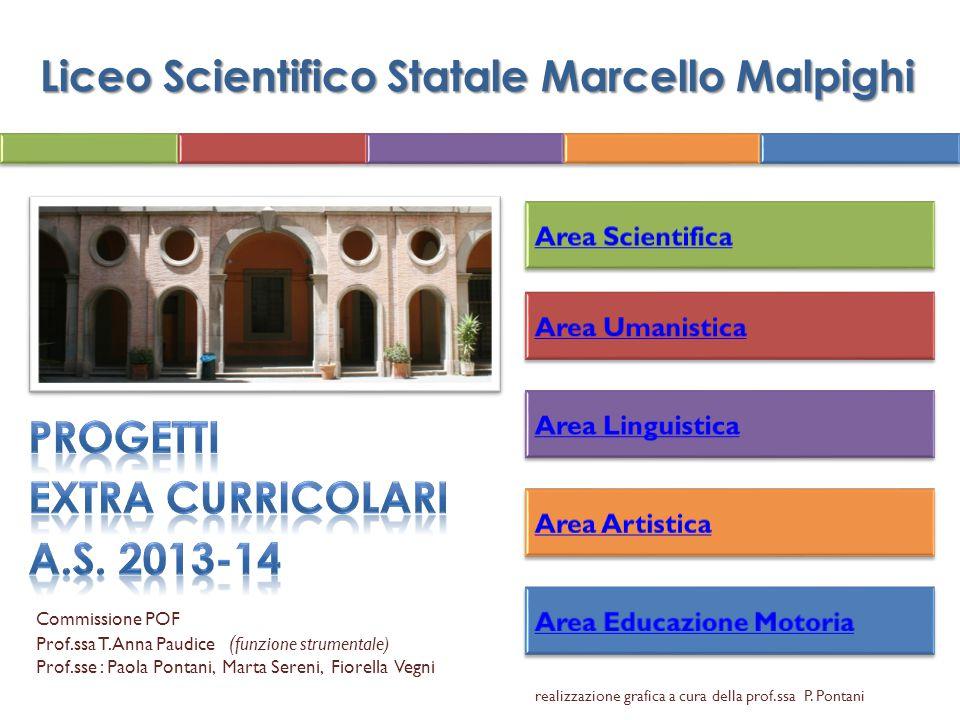 Liceo Scientifico Statale Marcello Malpighi Commissione POF Prof.ssa T.