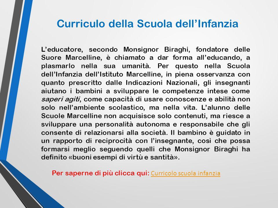 L'educatore, secondo Monsignor Biraghi, fondatore delle Suore Marcelline, è chiamato a dar forma all'educando, a plasmarlo nella sua umanità. Per ques