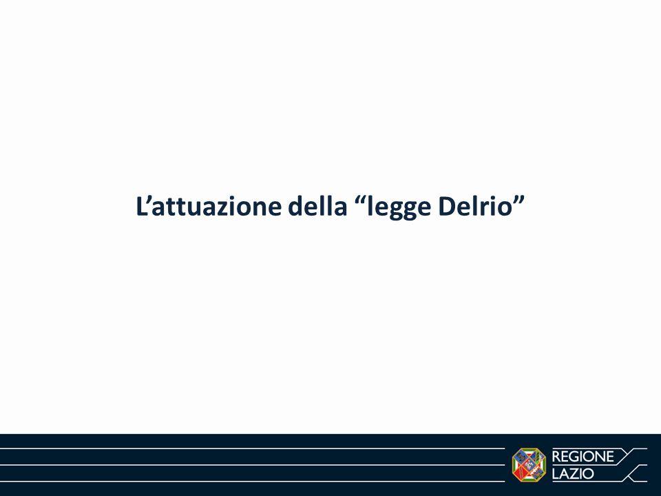 """L'attuazione della """"legge Delrio"""""""