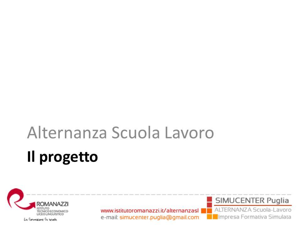 Il progetto Alternanza Scuola Lavoro