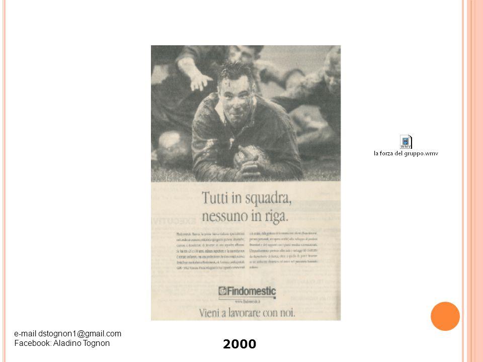 2000 e-mail dstognon1@gmail.com Facebook: Aladino Tognon