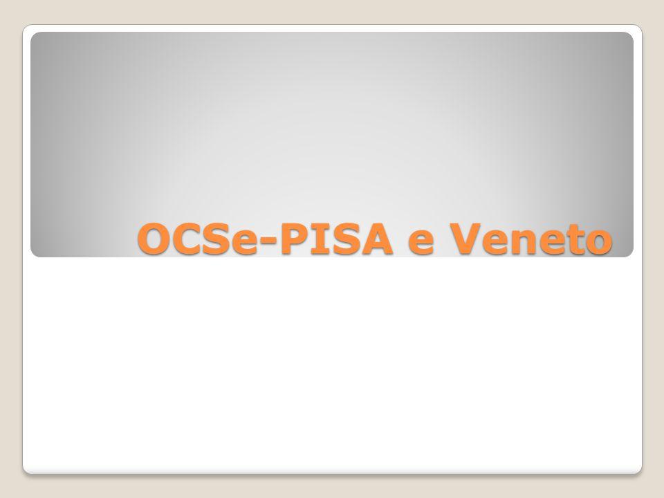 PISA Programme for International Student Assessment ): fu avviato nel 1997 da parte dei paesi aderenti all'OCSE