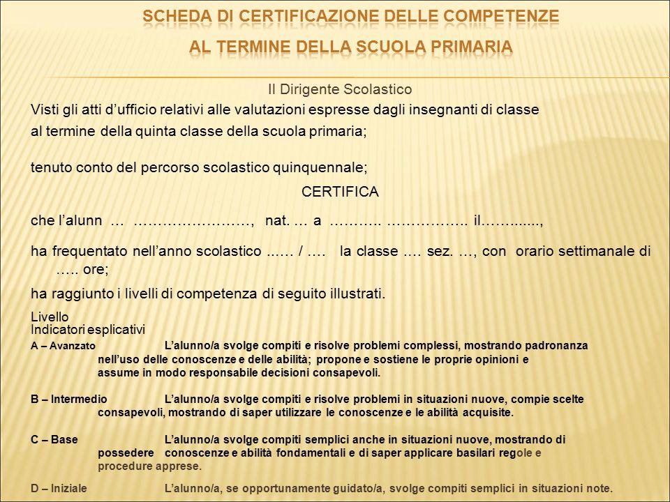 Profilo delle competenzeCompetenze chiaveDiscipline coinvolteLivello 1 Ha una padronanza della lingua italiana tale da consentirgli di comprendere enunciati, di raccontare le proprie esperienze e di adottare un registro linguistico appropriato alle diverse situazioni.