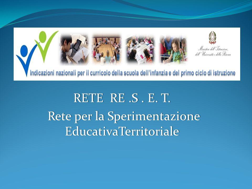 AMBITO SCELTO Curriculo verticale, didattica per competenze, campi d'esperienza (scuola dell'infanzia), italiano, matematica.