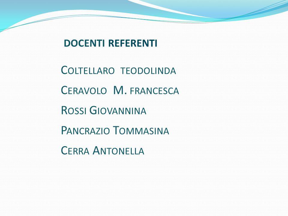 C OLTELLARO TEODOLINDA C ERAVOLO M.