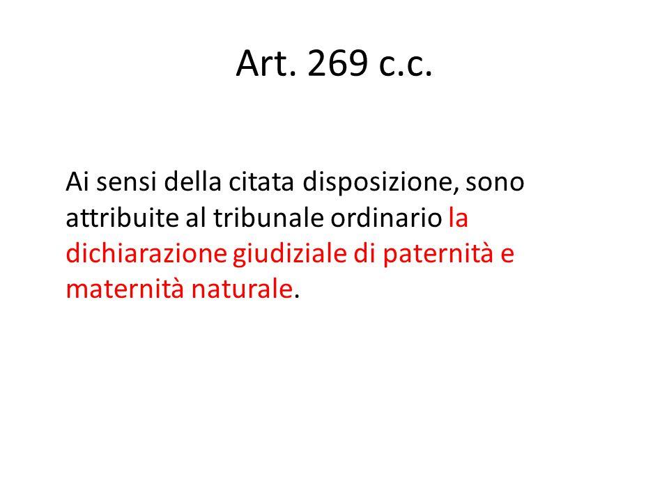 Art.269 c.c.
