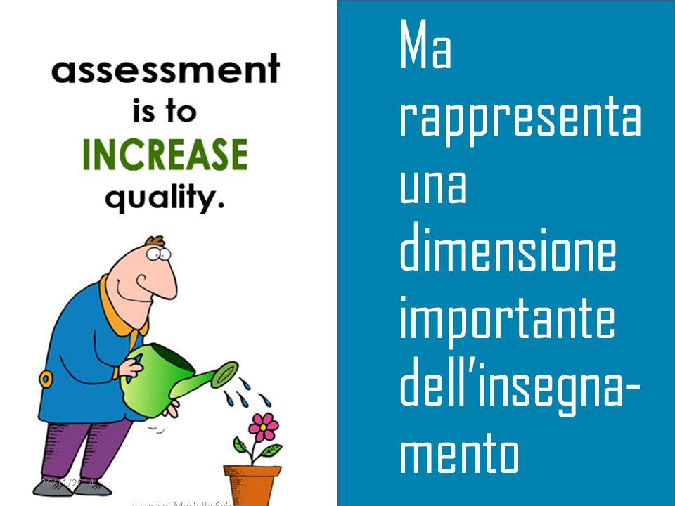 26/11/2014 a cura di Mariella Spinosi 10 Ma rappresenta una dimensione importante dell'insegna- mento