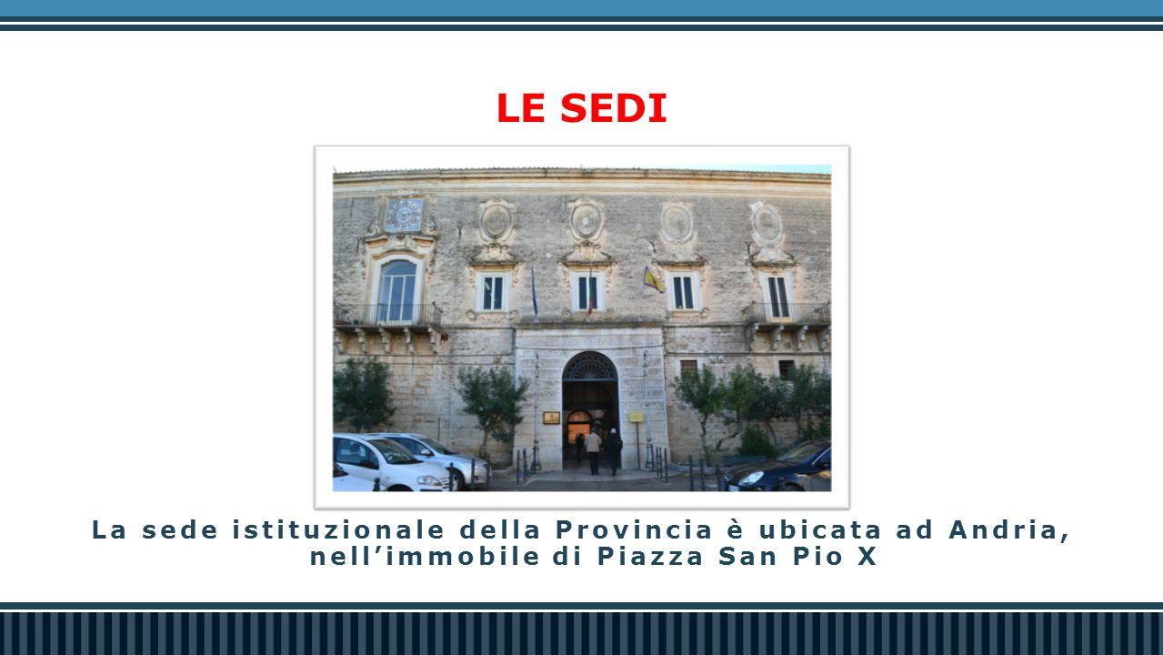 - Protocollo d'intesa «Raccolta degli oli vegetali e animali esausti di provenienza domestica» e distribuzione gratuita tanichette; - Protocollo d'intesa per la «Sensibilizzazione ambientale e per la protezione e cura del territorio durante il periodo estivo» - Star Up Strade Pulite: Amianto Zero - Protocollo d'intesa con Regione Puglia per la bonifica di siti potenzialmente contaminati (Programma Operativo FESR 2007/2013) - Progetto «GREEN BAT» (Forum Ambientale e Pulizia Spiagge) - Progetto Mare Sicuro 2013 - Protocollo d'intesa con ARPA e Corpo Forestale dello Stato per la salvaguardia ambientale e la protezione dall'inquinamento