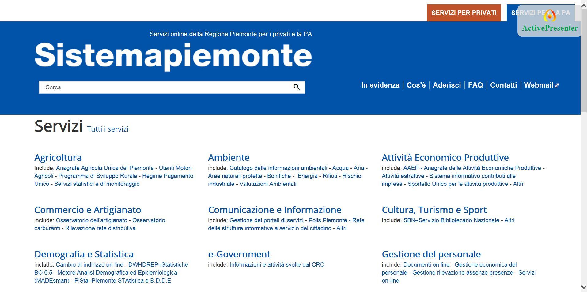 La cartella Elenco documenti contiene i report condivisi