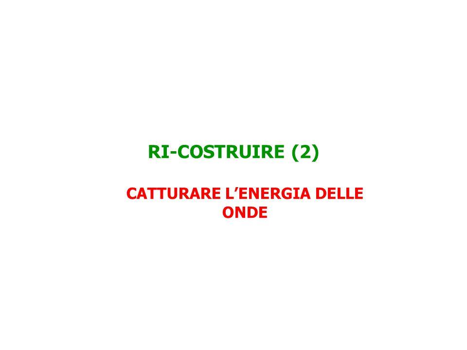 RI-COSTRUIRE (2) CATTURARE L'ENERGIA DELLE ONDE