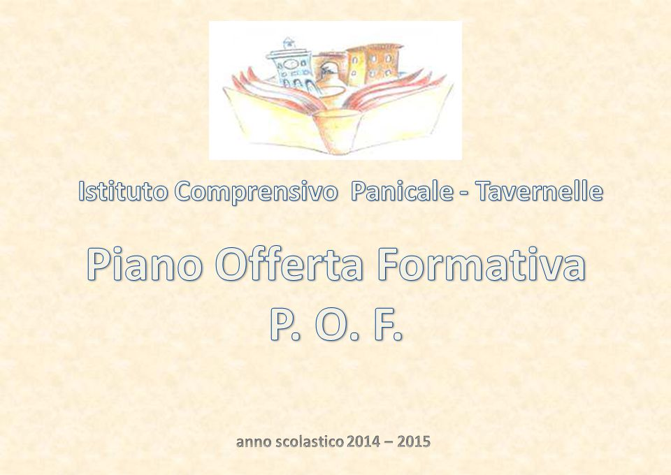 FUNZIONI STRUMENTALI P.O.F.