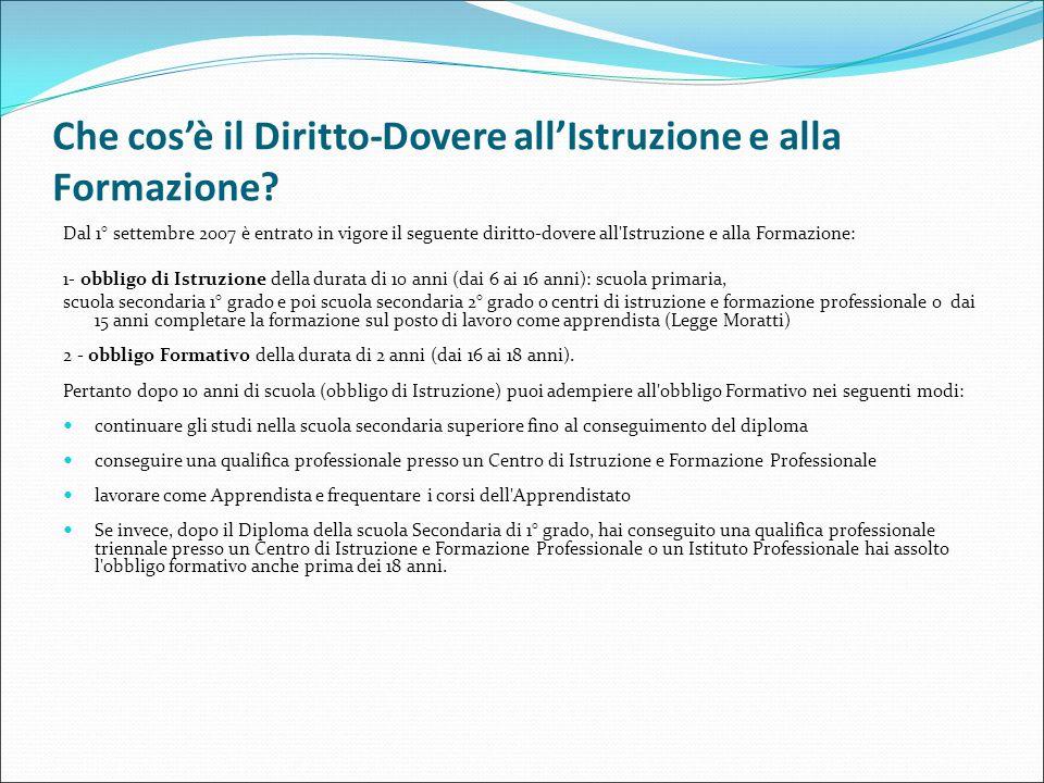 L'ordinamento scolastico italiano attuale