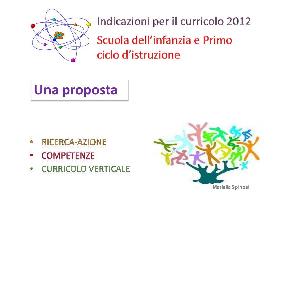 Avviare un percorso di ricerca-azione, partendo da una competenza disciplinare di fine ciclo 2 Mariella Spinosi